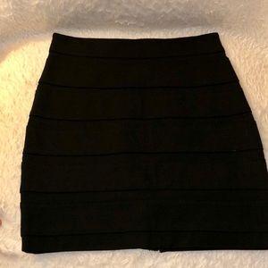 Paige Premium Denim Black Bandage Skirt - Size XS